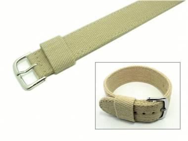 Bracelet tissu 380_watchstrap_Tx-Jeans-BTbeige031