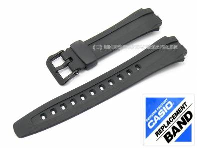 CASIO- replacement strap black synthetic (10137491) for AQ-163W, AQ-163WG, AQ-160W - Bild vergr��ern