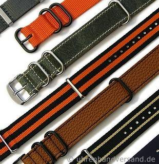 One-Piece band made of leather, textile or synthetic in diverse designs - Produktbild