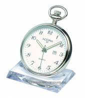 Pocket watch stand transparent plastic for 1 pocket watch