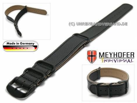 MyAventura-01: Watch straps NATO - Style one piece from Meyhofer in various styles MADE IN GERMANY - Bild vergrößern