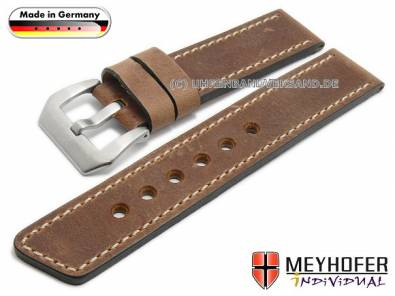 MyRustico-01: Watch straps rustic design from Meyhofer MADE IN GERMANY - Bild vergrößern