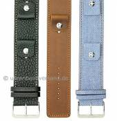 MyAventura-03: Meyhofer leather pad watch straps with multiple ends MADE IN GERMANY