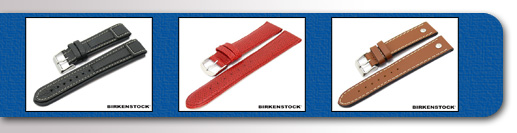 Watch Straps made of Leather etc. from BIRKENSTOCK