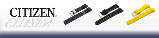 Overview: Replacement Watch Straps from CITIZEN