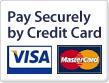 Credit card payment with VISA or MASTERCARD