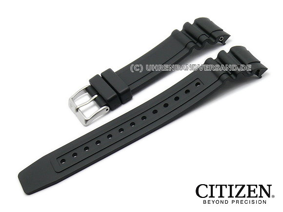 Replacement Watch Strap Citizen Bn0100 00e 23mm Black Rubber
