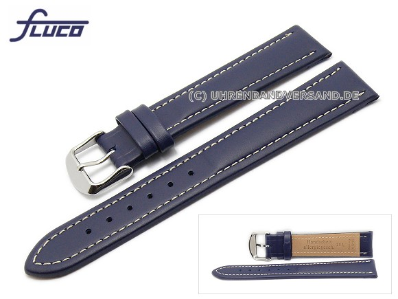 Fc-LC3340 Watch strap XL 20mm dark blue