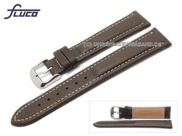 Fc-LC3340 Watch strap XL 20mm dark brown