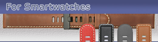 Selected watch straps for a range of Smartwatches