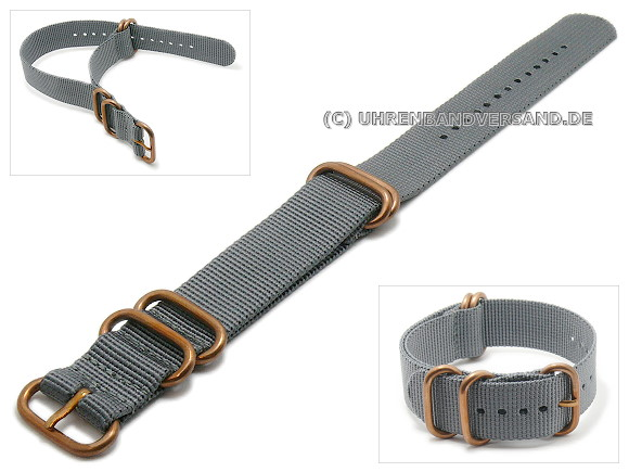 Zulu 5R-BRZ Watch strap on Watchbandcenter.com