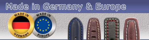 Watch Straps Made in Germany/Europe