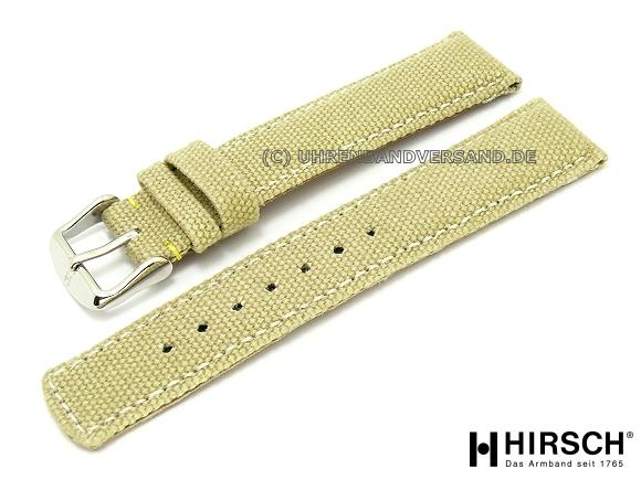 Canvas Strap Watch Watch Band Canvas 20mm Beige
