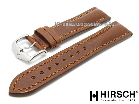 Lucca Watch Strap from Hirsch Austria