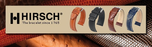 Overview: Watch bands from HIRSCH, Austria