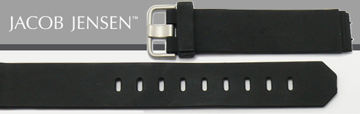 Overview: Replacement watch straps for wrist watches from JACOB JENSEN