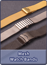 Mesh/Milanaise watch bands