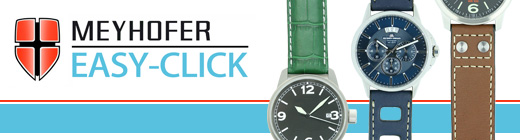 Brand-Overview: Your simple to change watch straps from Meyhofer EASY-CLICK