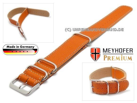 MyFcS-LC300 Watch strap 20mm orange Nato-Special