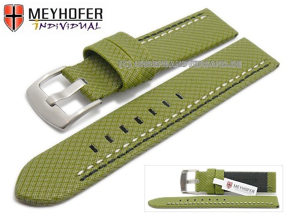 Watch strap Oldenburg from the brand Meyhofer, available on watchbandcenter.com