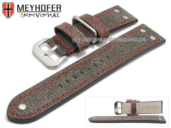 Watch straps from Meyhofer, Ansbach, available on watchbandcenter.com