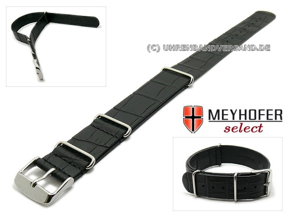 Nato style watch strap Maracay from the brand Meyhofer