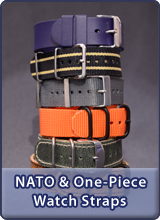 Here you will find all our NATO watch straps