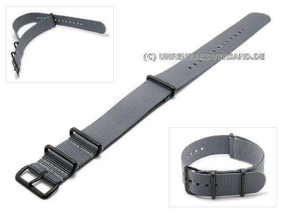 Pt-KB5B Watch Strap grey