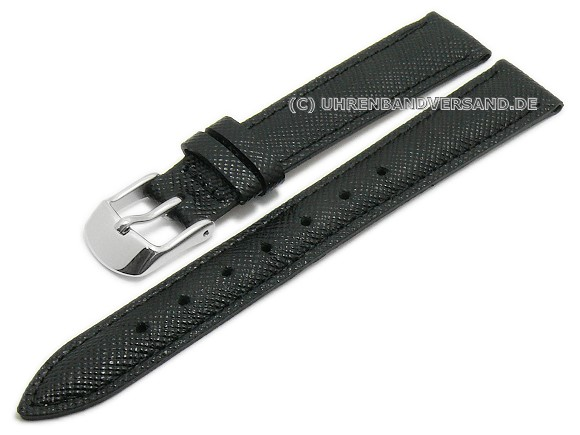 Saffiano Style Watch Strap on WATCHBANDCENTER.COM