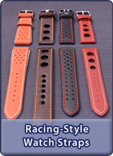 Racing/Rally style watch straps