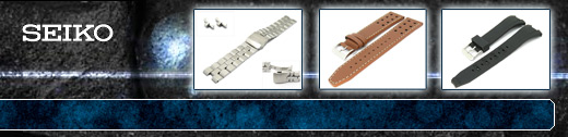 Replacement watch bands and more for SEIKO watches