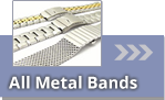 Watch bands made of metal