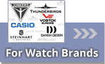 Watch straps suitable for branded watches