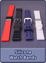Here you will find all our silicone watch bands
