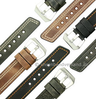MyRustico-01: Watch straps rustic design from Meyhofer MADE IN GERMANY