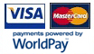 Pay with VISA or MASTERCARD!