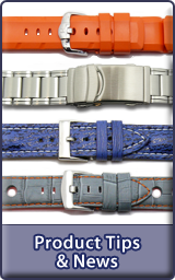 Watch strap and other product news...