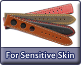 Overview: Watch strap recommendations for customers with sensitive skin