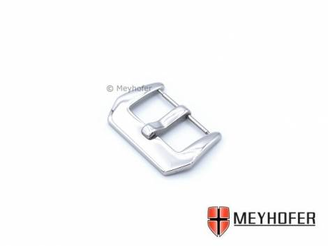Large Buckle -Harburg- suitable for Panerai (flat-style) stainless steel 22mm polished by MEYHOFER - Bild vergrößern
