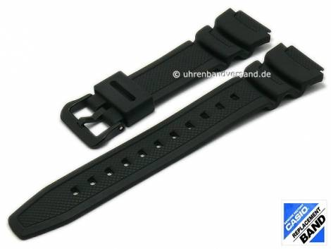 CASIO- replacement watch strap black synthetic (10517248) special lug end for AE-1000W-1A2V, AE-1000W-1AV, AE-1000W-1BV - Bild vergrößern