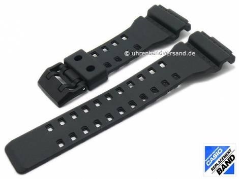 CASIO- replacement strap black synthetic (10536683) special lug ends for GA-700-1A, GA-700-1B - Bild vergrößern