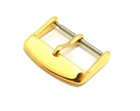 Buckle Jasp (HeDS-2010) 20mm stainless steel golden polished - Bild vergrößern