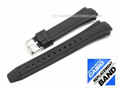 CASIO- replacement strap 16mm black synthetic (10249758) for EF-514-1AVF - Bild vergrößern