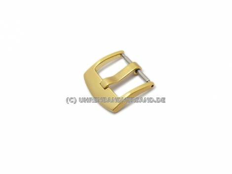 Buckle (HeBD-2019) 20mm stainless steel golden brushed - Bild vergrößern