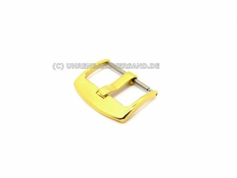 Buckle (HeBD-2014) 20mm stainless steel golden polished - Bild vergrößern