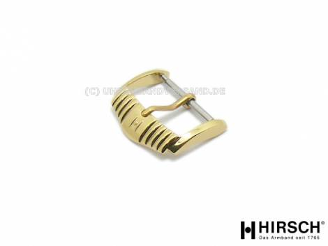 Buckle (HiDS-2701) 20mm stainless steel golden polished by HIRSCH - Bild vergrößern