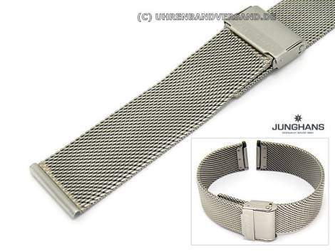 Replacement watch strap JUNGHANS 20mm stainless steel mesh for 018/1720, 018/1721, 018/1810 etc. - Bild vergrößern