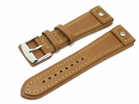 Watch band 20mm brown CHRONO EXTREME - Bild vergrößern