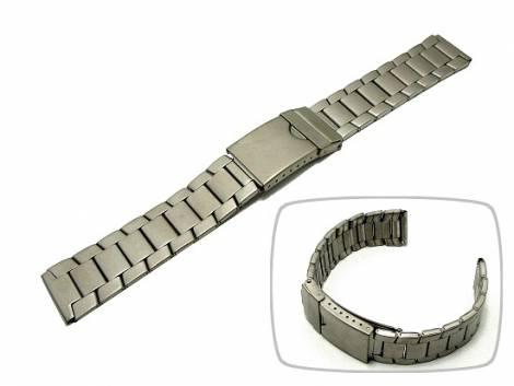 Watch band 18mm titanium elegant design from Eichmueller - Bild vergrößern