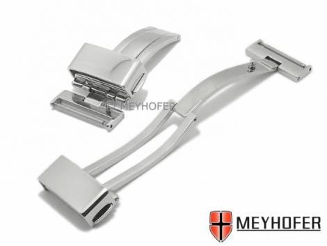 Flip clasp -Heslach- 22mm stainless steel polished - Bild vergrößern